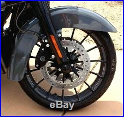 00-19 Genuine Harley CVO Touring Front Wheel 19x3.5 Rim Battleship Street Glide