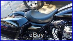 08-19 Harley Touring C&C Brawler Solo Seat Road Glide & Street Glide