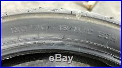 08 Harley Davidson FLHX Street Glide aftermarket chrome rims front rear & rotors