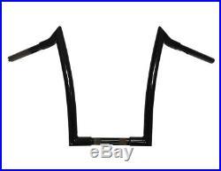 14 Black Fat Monster Ape Hangers Handlebars Harley Street Bob Dyna Softail