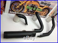 17-20Harley Street Glide Exhaust Header Pipe Heat Shield Ceramic Coated CeraKote
