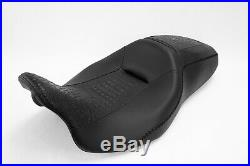 2008-2018 Street Glide HARLEY Seat Cover P52320-11 Black Stitching COVER ONLY