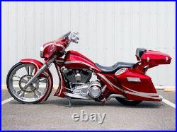 2012 Harley-Davidson Touring Street Glide Custom Stretched Big Wheel Bagger
