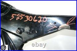 2013 Harley Davidson Touring Street Glide Main Frame Chassis Slvg Ttl