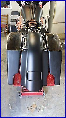2014-15 Stretched Saddlebags Rear Fender Harley Davidson Street Glide