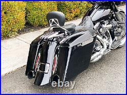 2014 Harley-Davidson Touring Street Glide FLHX Raked Stretched Big Wheel Bagger