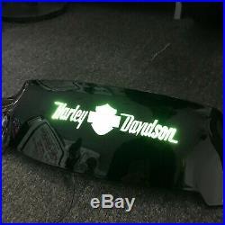2014-UP Harley Davidson LED Street Glide Light Up Windscreen Visor Shield