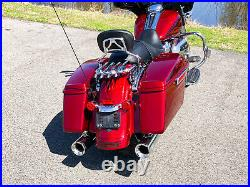 2017 Harley-Davidson Touring Street Glide Special FLHXS Hard Candy Red 7,102mi