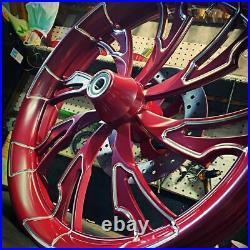 21 Inch Guinzu Motorcycle Wheel Harley Road King Street Glide Road Glide FXR