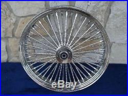 21x3.5 Dna 52 Diamond Fat Spoke Front For Harley Road King Street Glide Tourin