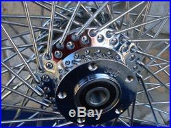 21x3 60 Spoke Front Wheel Harley 00-07 Road King Street Glide Touring