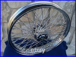 23 60 Spoke Chrome Front Wheel 00-07 Harley Road King Street Glide Touring