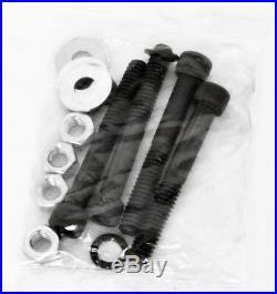 4 Black Billet Harley Road Glide Street Floorboards Foot Pegs