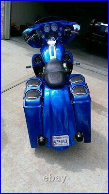 6 Rear Fender for Harley Davidson Touring Street Glide Bagger FLHX Motorcycle