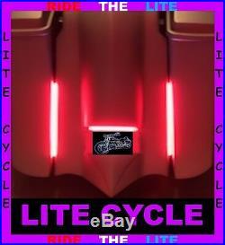 8 Amped Flex-plaxma Filler Rods Harley 2010-18 Street & Road Glide