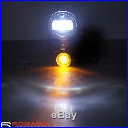 Auxiliary Lighting Bracket Turn Signal Light Spot Light For Harley Street Glide