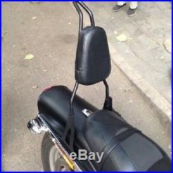 Backrest Sissy Bar For Harley Davidson Dyna Street Bob Super Glide Low Rider 06+