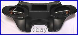 Batwing Fairing Windshield Fits Harley Touring Road Street Glide Abs Double Din