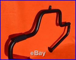 Black Mustache Engine Guard fit 1997-2019 Harley Davidson Road King Street Glide