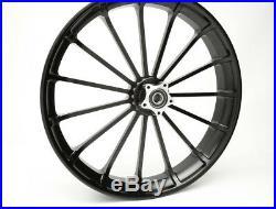 Black Talon 21X3.5 Wheel for 2019 Harley Davidson Street Glide Special
