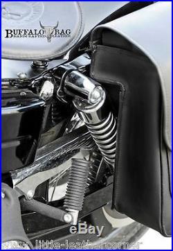 Buffalo Bag 25L Satteltasche Aspen links Harley Davidson Dyna Street Bob Fat Bob