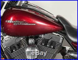 CHROME Harley Davidson Emblems Street Glide FLHX 2009-2017 tank medallion badge