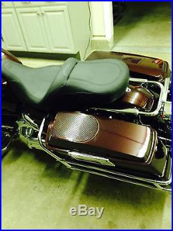 CVO Style 6x9 Speaker Lids 93-13 Harley Saddlebag Touring Road King Street Glide