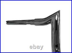 Chrome 12 Rise Handlebar Monkey Bagger Bar For Street Glide Ultra Limited & Low