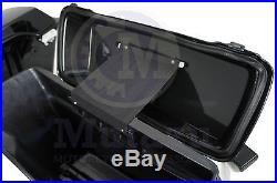 Complete Hard Saddlebags for Harley Touring Road Street Electra Glide Vivid Blk