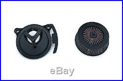 Crusher 9606 By Kuryakyn Street Sleeper III Air Cleaner for Harley TBW Models
