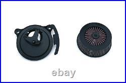 Crusher By Kuryakyn Street Sleeper III Air Cleaner for Harley Cable Throttle Mod
