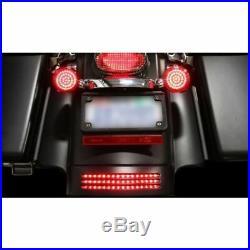 Custom Dynamics Rear Fender Red LED Tri Bar Light Harley Street Road Glide 14-19