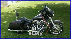 Custom Tall Sissy Bar Backrest Pad Harley Touring Road King Street Electra Glide