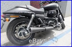 Danmoto Highwayman Slip On Exhaust Harley Davidson Street Rod XG 500 / 750 HM27