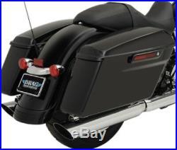 Drag Specialties 3.5 Exhaust Mufflers Harley Electra Glide Road King Street