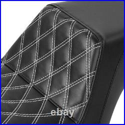 Driver Passenger Seat Fit For Harley Dyna Fat Bob FXDF Street Bob FXDB 06-17 16
