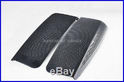 Dual 6x9 Speaker Lids 2014-later Harley Saddlebag Touring Road King Street Glide