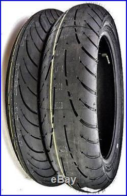 Dunlop Elite 4 Front/rear Tire Set Harley Road King Electra Glide Street
