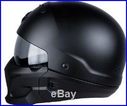 EXO-COMBAT böser Motorrad Streetfighter Jethelm Harley Bobber Style Kylo Ren