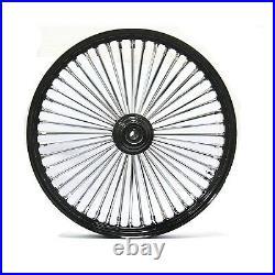 Fat Spoke 21 Front Wheel Black 21 X 3.5 Harley Flht Electra Glide Flhx Street