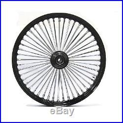 Fat Spoke 23 Front Wheel Black 23 X 3.5 Harley Flhx Street Glide 2006-2007
