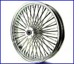 Fat Spoke 23 Front Wheel Chrome 23 X 3.5 Harley Flhx Street Glide 2006-2007