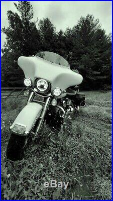Fiber Batwing Fairing Windshield 4 Harley Touring Road Street Glide Talonbillets