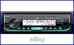 For 98-13 Harley Marine Jvc X35mbs Am/fm Bluetooth Usb Stereo Pkg Opt Siriusxm
