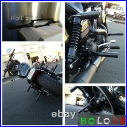 For Harley Dyna Street Rider Fat Bob FXDB FXDL FXDF FXDWG Highway Crash Bar 06+