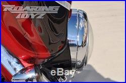 HARLEY DAVIDSON CHROME RAKED HEADLIGHT BEZEL 94-18 Touring Street Glide Electra