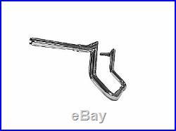 HARLEY DAVIDSON STREET GLIDE APE HANGERS Chrome Meathook Monkeybars 10 FLH 96+