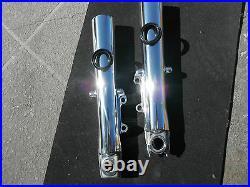 HARLEY POLISHED LOWER FORK SLIDERS Street Glide 2000-13 Touring NO EXCHANGE