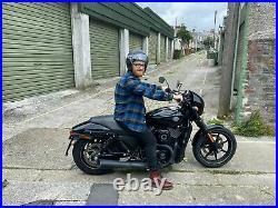 HARLEY STREET XG750 XG500 ECONOMY BLACK Shorty SHOCKS 11.4 E/E Med/Light duty