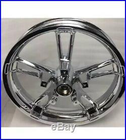 Harley 2014 Rim Touring Street Glide Flhx Flhr Enforcer Chrome Wheel (exchange)